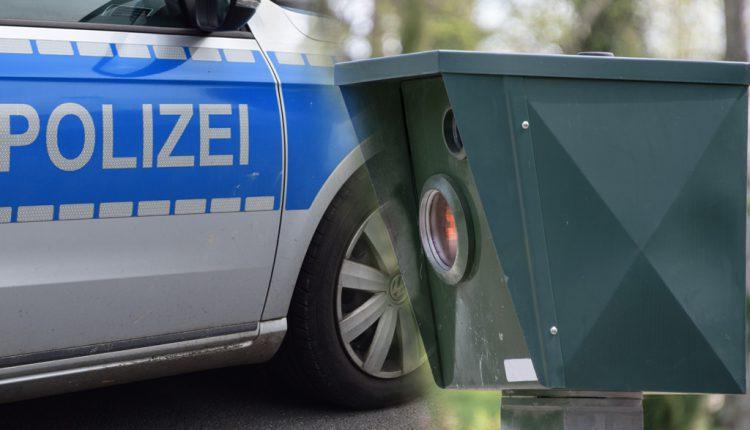 Radar Blitzer Polizei