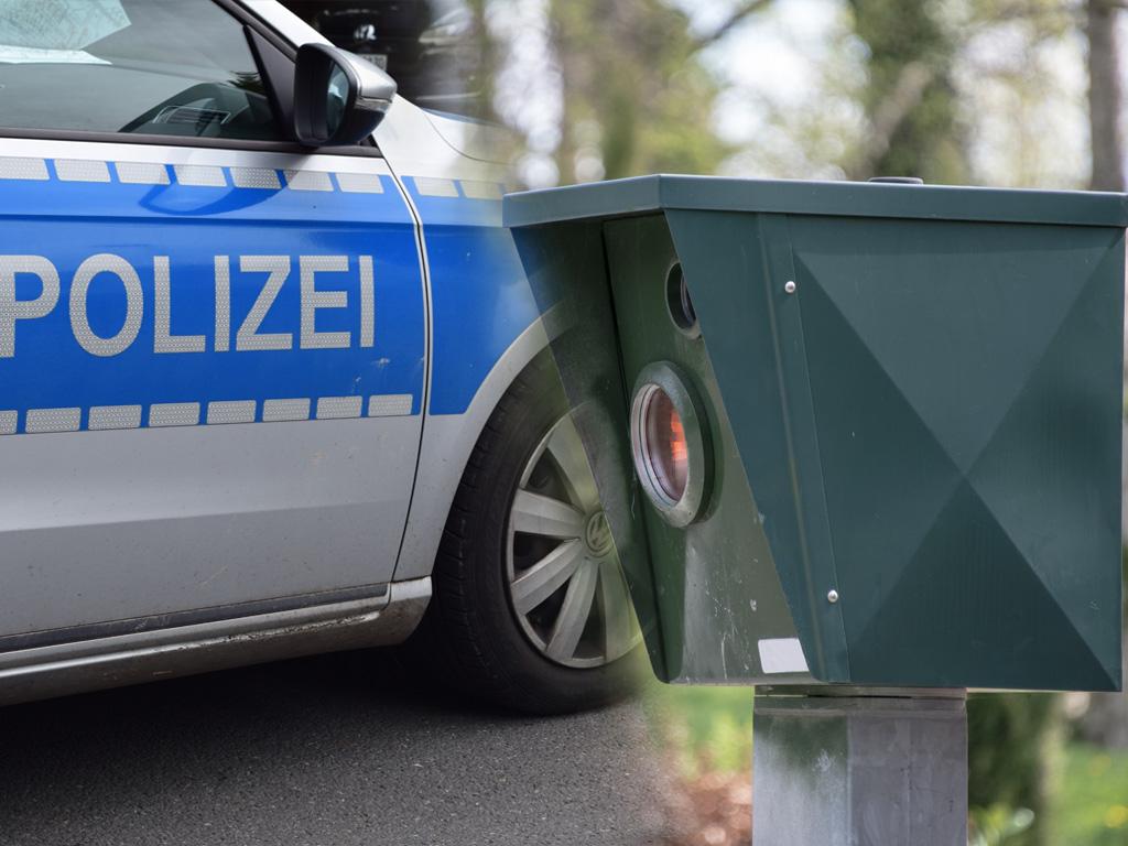 Radar Blitzer Polizei Blitzmarathon