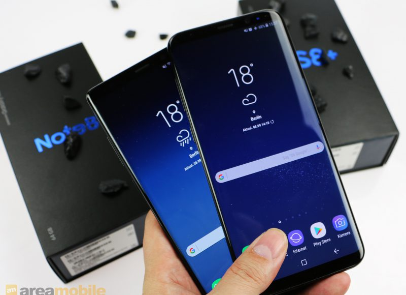 Samsung Galaxy S8 mit Android 8 Oreo im Benchmark-Test